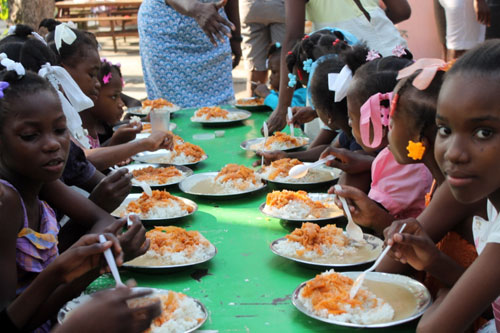 star of hope christian school eat beans and sause