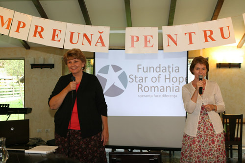debbie tillotson, romania, speaker,star of hope, yes
