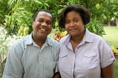 Tony and Myrtha Star of Hope Haiti