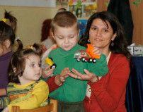 Star of Hope, Romania Mothers get help with kids who have disabalities